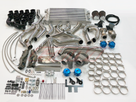 gtm 350z vq35de twin turbo kit parts
